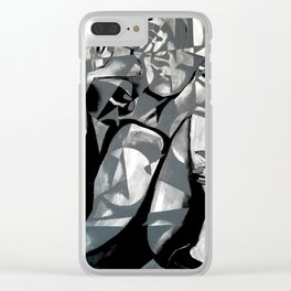 Set in Stone Clear iPhone Case