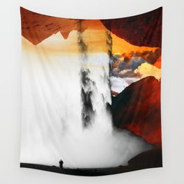 Isolation Waterfall Wall Tapestry