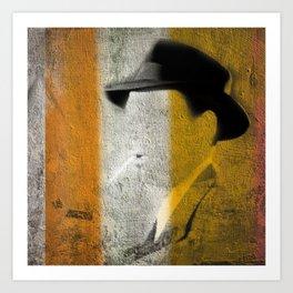 The Detective Art Print