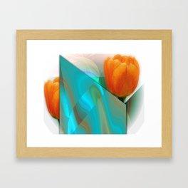 Tulip Sunrise Framed Art Print