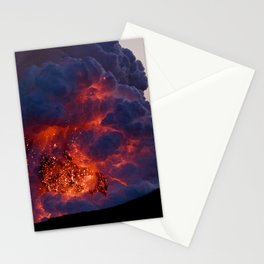 Kilauea Volcano at Kalapana 6 Stationery Cards