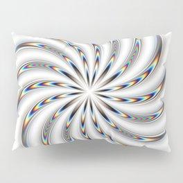 Bright spiral w/ illusory motion Pillow Sham