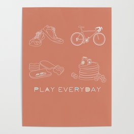 Play Everyday Poster