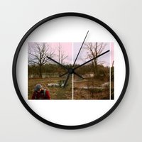 supreme Wall Clocks featuring supreme by lizbee