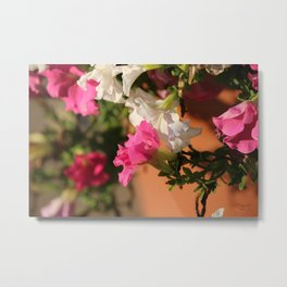 Glorious Abstract Floral  Metal Print