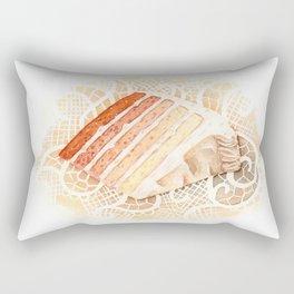 Ombre Cake Slice Rectangular Pillow