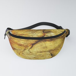 Desert Glow Earth Art Abstract Natural Rock Texture Fanny Pack