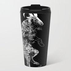 Goat Metal Travel Mug