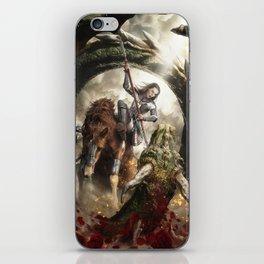 Saint Georgine and the Dragon iPhone Skin