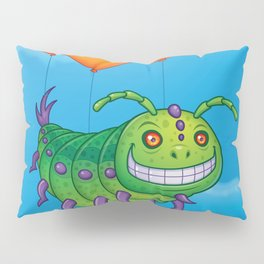 Impatient Caterpillar Pillow Sham