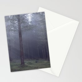 Spooky forest - North Kessock, The Highlands, Scotland Stationery Cards