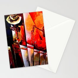 Modern Jazz Stationery Cards