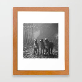 Three Scots Framed Art Print