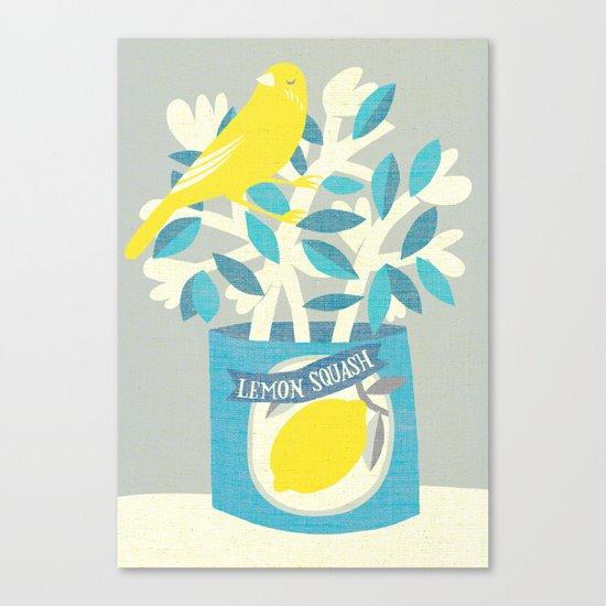 lemon squash Canvas Print