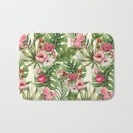 Tropicana Pattern Bath Mat