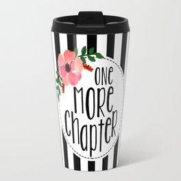 One More Chapter - Black Stripes Travel Mug
