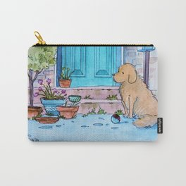 Waiting at the door Carry-All Pouch