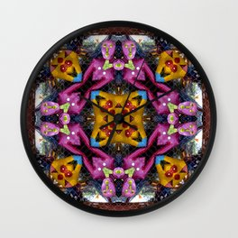 Colorful Unity In Africa Wall Clock