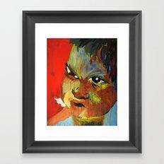 Autistic Boy Framed Art Print