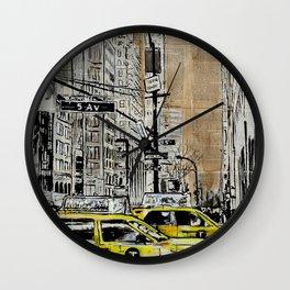 5th Ave Wall Clock