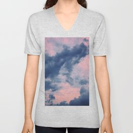 Candy Clouds of Lullaby Unisex V-Neck