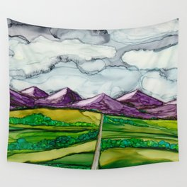 Take Me To The Mountains Wall Tapestry