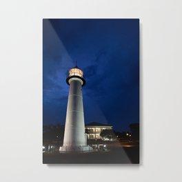 Biloxi Lighthouse and Visitors Center Metal Print