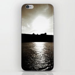 Whitby abbey sunset iPhone Skin