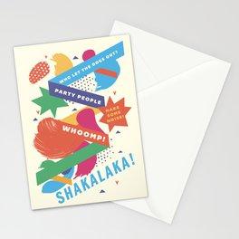 Jock Jams Stationery Cards