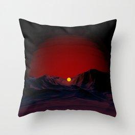 D A W N Throw Pillow