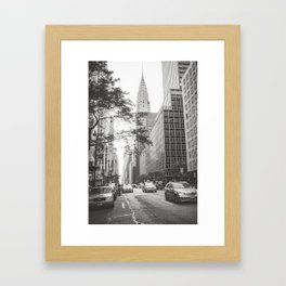 The Chrysler Building New York City Framed Art Print