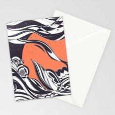 Ink sunset Stationery Cards
