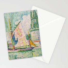 """Paul Signac """"Tour des Quatre Sergents, La Rochelle"""" Stationery Cards"""