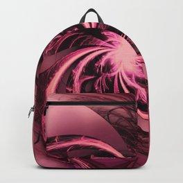 Fractal Twisted Purple & Plum Backpack
