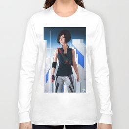 Faith Connors Portrait Long Sleeve T-shirt