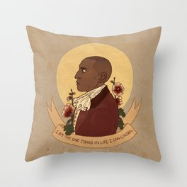 I'm Willing To Throw Pillow