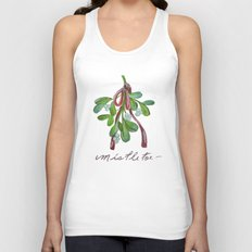 Under  the Mistletoe botanical  Unisex Tank Top