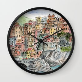 Manarola, Wall Clock