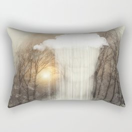 Raining Tears Rectangular Pillow