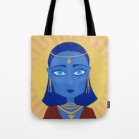 et Tote Bags featuring ET by Mille Kurowsky