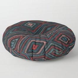 Hand Drawn Winter Pattern Floor Pillow