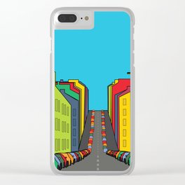 Tenement Hill Clear iPhone Case