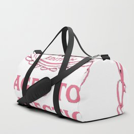 Pink-Vintage-Limited-1954-Edition---63rd-Birthday-Gift Duffle Bag