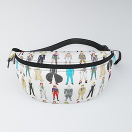 Rock Stars Heroes Costumes Fanny Pack