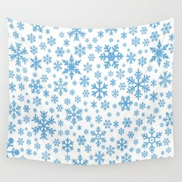 snow flake Wall Tapestry