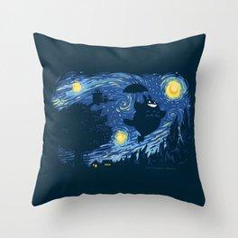 A Night for Spirits Throw Pillow