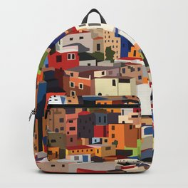 Mexico historical town cityscape (Guanajuato) Backpack