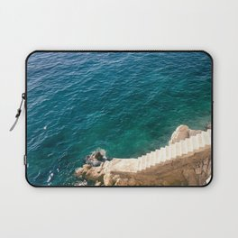 Stairs to the Sea Laptop Sleeve