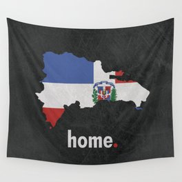 Dominican Republic Proud Wall Tapestry