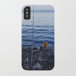 Sunrise Fishing  iPhone Case